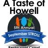 September Stroll offering up Howell's best cuisine