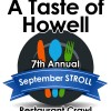 2016 September Stroll set for September 21st