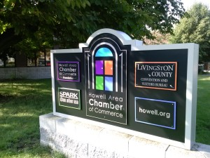 New chamber sign