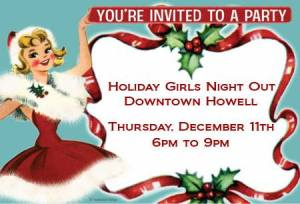 holiday girls night out
