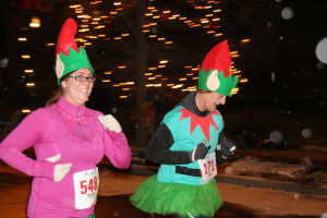 Fantasy 5K runners - girl power