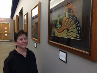 Artist Pat Bursch